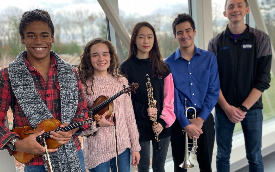 Five WCHS Students Selected for Central District Concert Festival