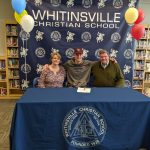 Justin Vander Baan signs National Letter of Intent with Boston College