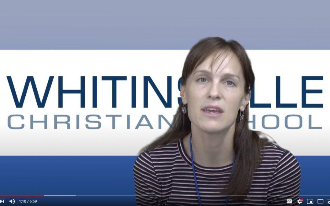 Video from WCS School Nurse Mrs. McCabe
